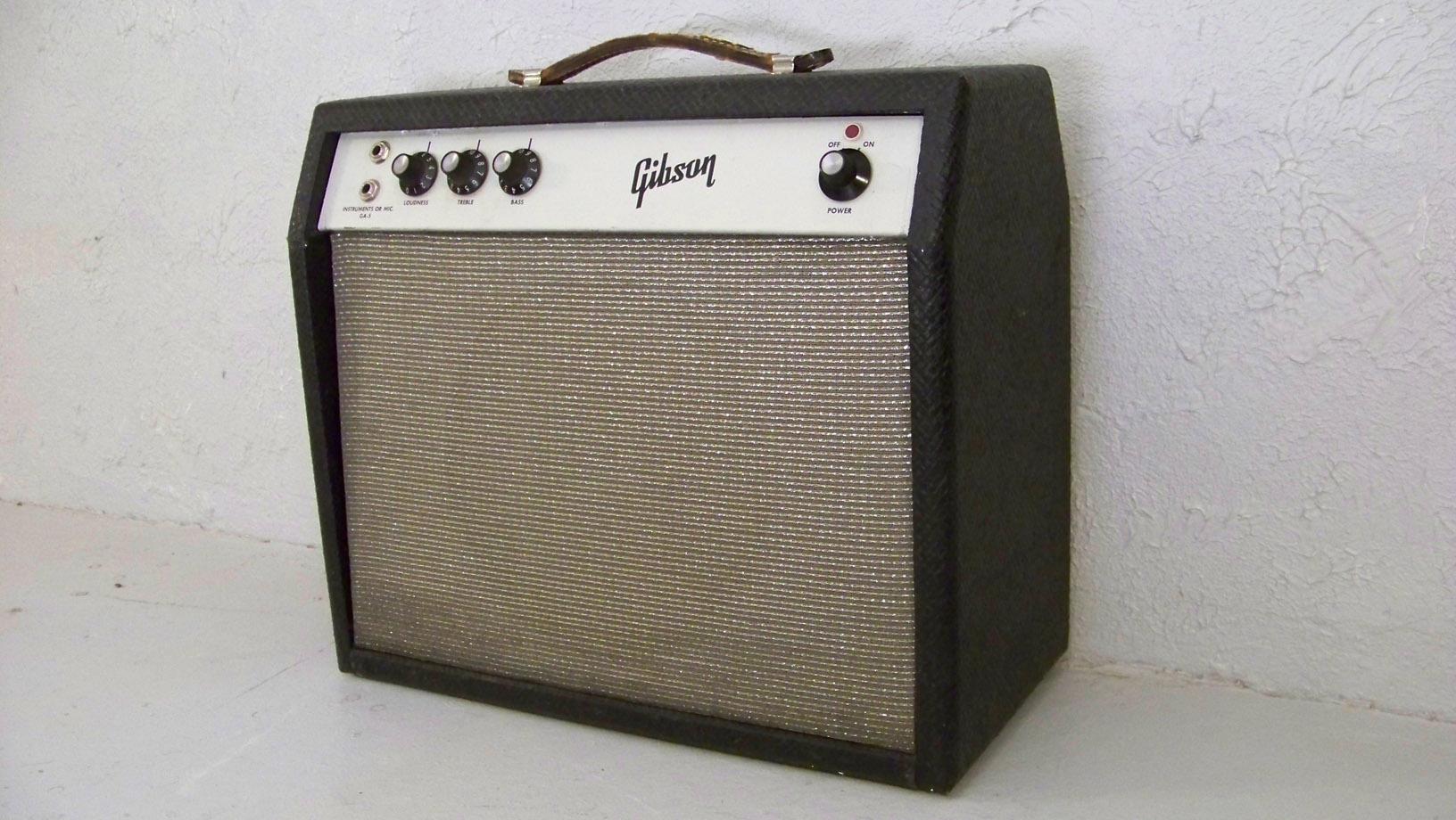Gibson Garage Amps 1964 Skylark Wiring Diagram Ga 5 White Panel
