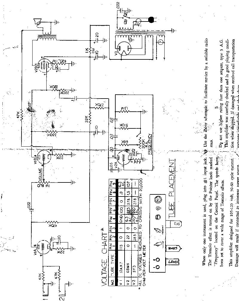 Gibson Garage Amps The Configuration Is Classic Tube Power Supply 5y3 Rectifier Schematic