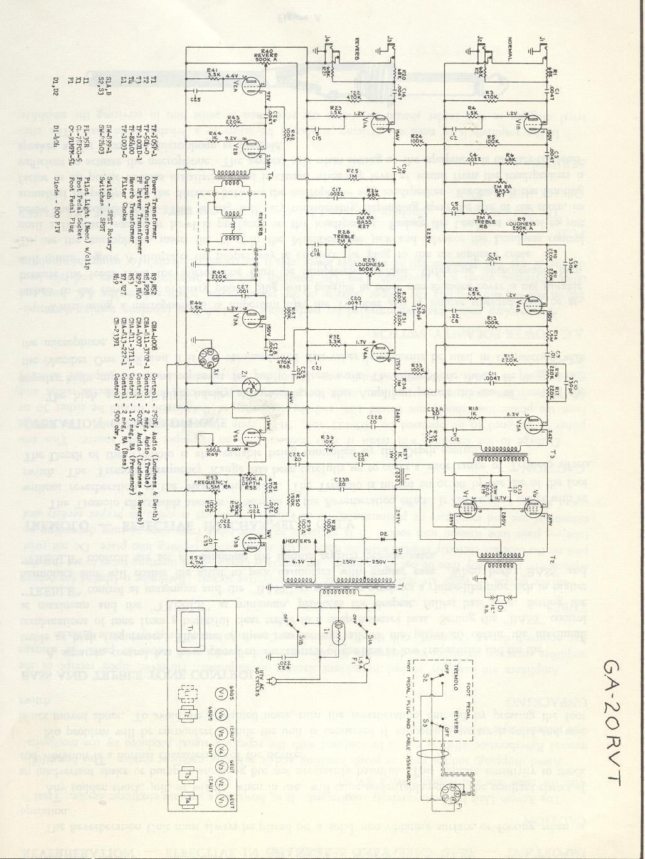 gibson garage amps schematic