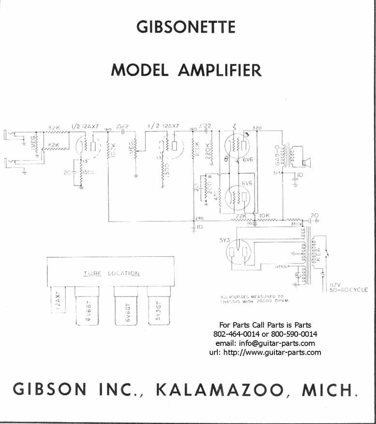 Gibson Garage - Amps