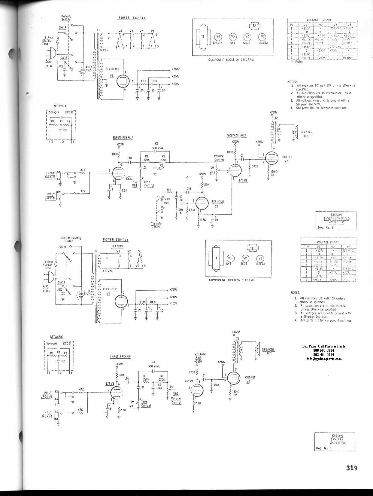 Gibson Garage Amps Amp Schematic Electric Guitar Wiring Diagrams Ga 30